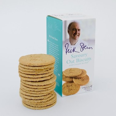 Rick Stein Oat Biscuits with Cornish Sea Salt