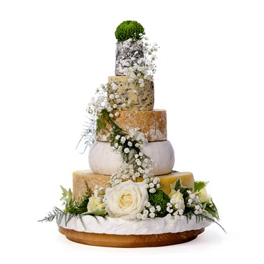 Cheese Wedding Cakes Of The Shed
