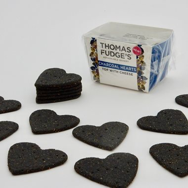 Fudge's Charcoal Hearts