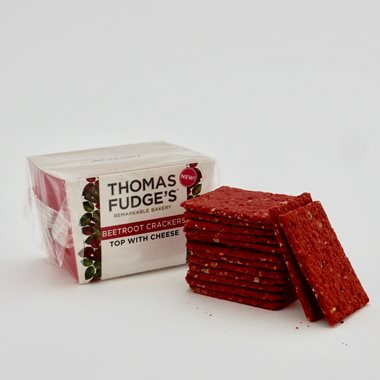 Fudge's Seeded Beetroot Crackers