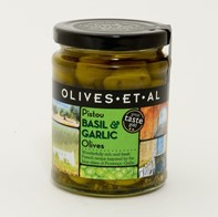 Pistou Basil & Garlic Olives